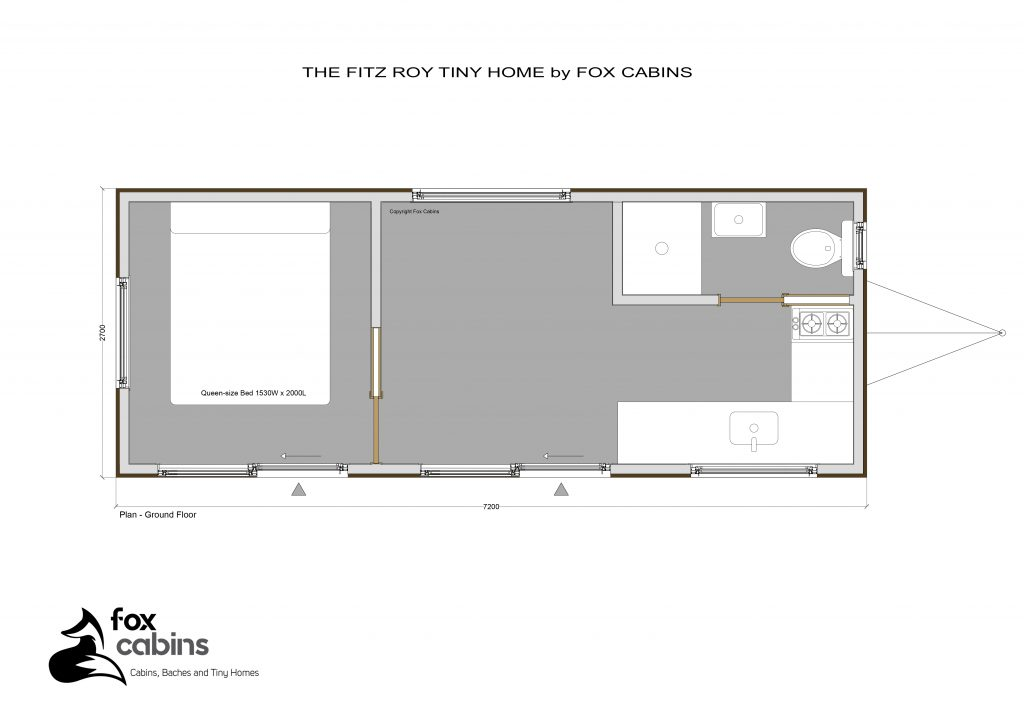 Fitz Roy Tiny Home Plan